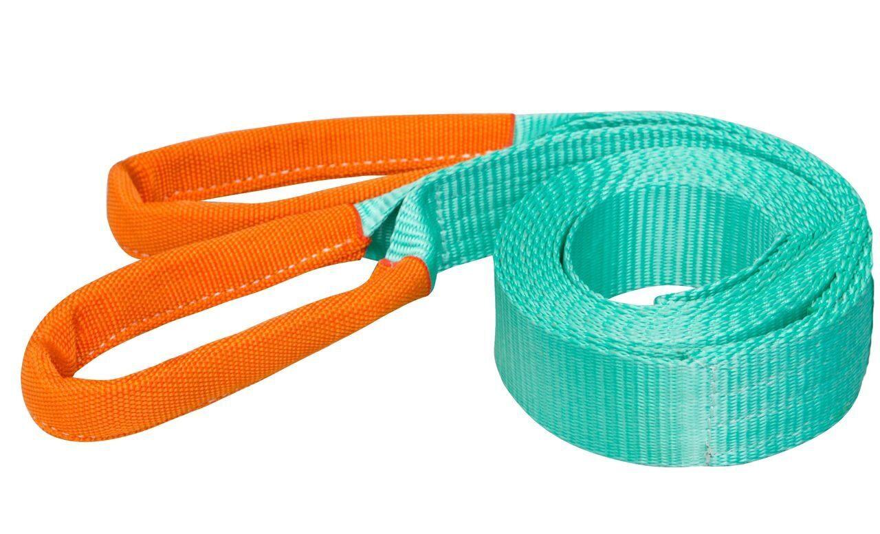 Как используются ленточные стропы?